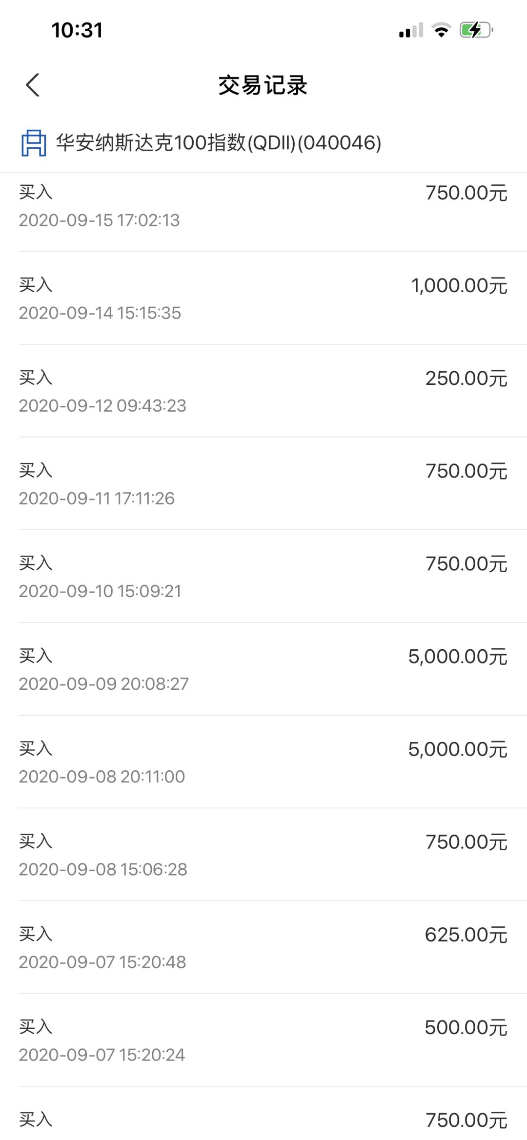 高位接盘 + 定投一年,结果如何?